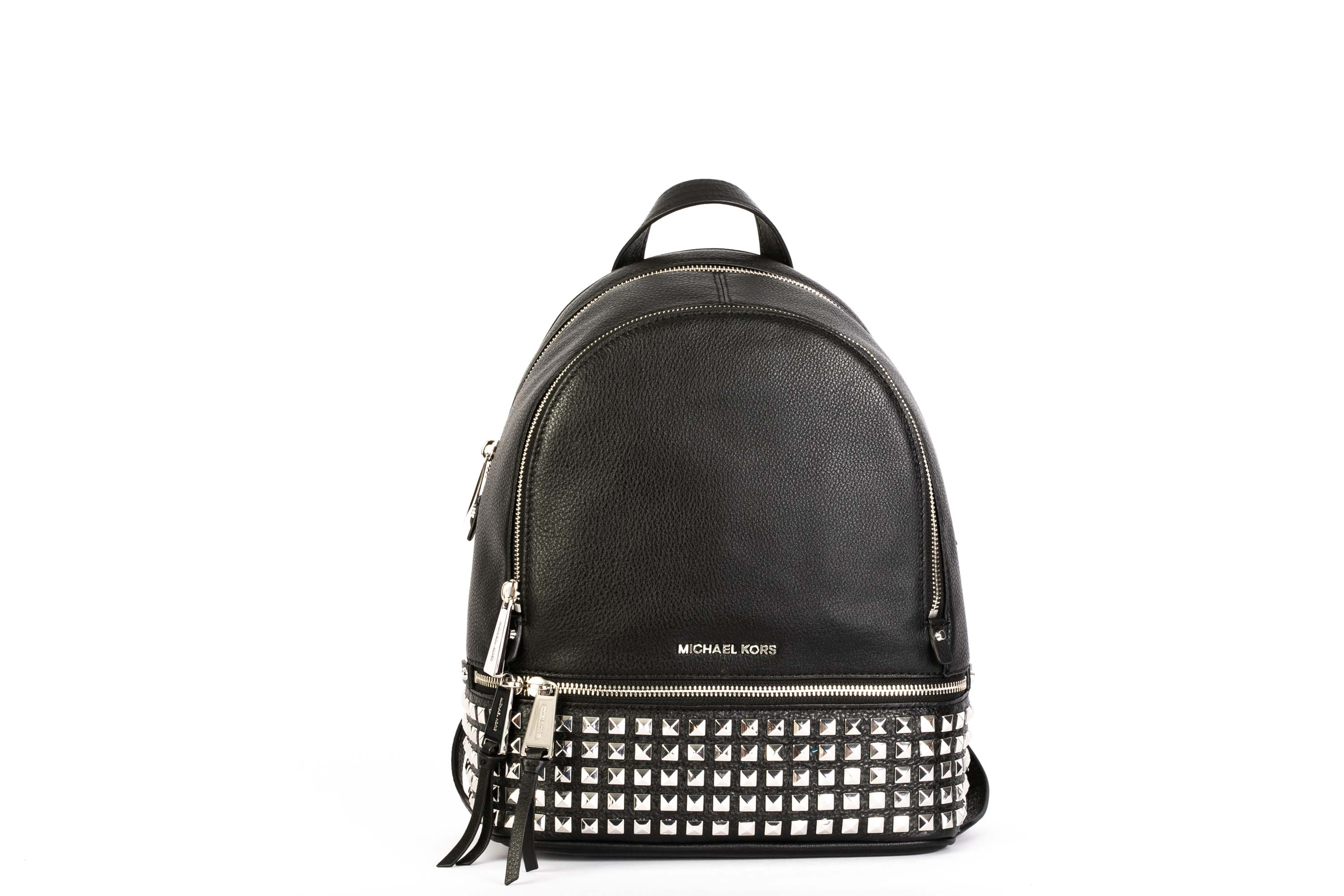 cf54404e10db MICHAEL KORS. LEATHER BACKPACK. articolo + ZOOM